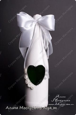 Свадебная бутылка ....  фото 2