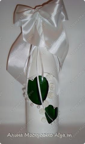 Свадебная бутылка ....  фото 3