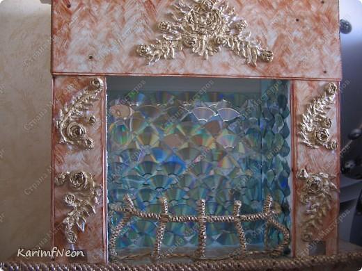 Декор моего камина, почти, завершен.  Как его сделать я подробно написал в моём блоге. Добро Пожаловать :) фото 4