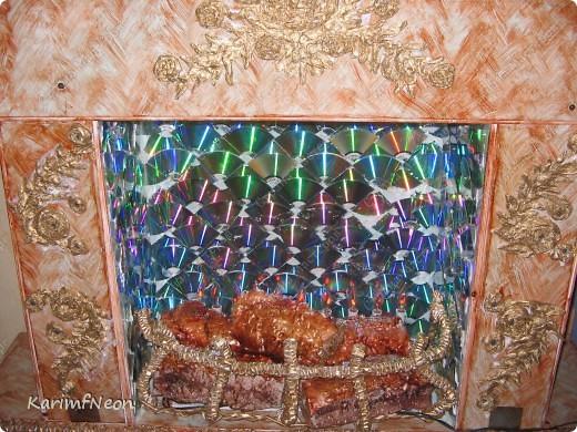 Декор моего камина, почти, завершен.  Как его сделать я подробно написал в моём блоге. Добро Пожаловать :) фото 6