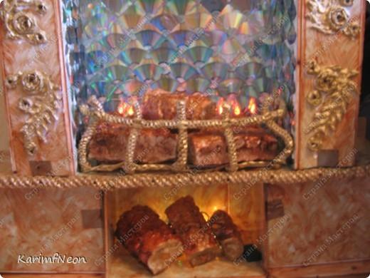 Декор моего камина, почти, завершен.  Как его сделать я подробно написал в моём блоге. Добро Пожаловать :) фото 8