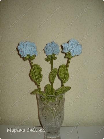 Вязанные гвоздики для мамы фото 1