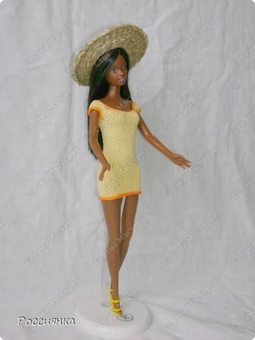 """Вам потребуется:  нитки """"Ирис"""" желтого цвета; оранжевого цвета; спицы 1,5 мм; крючок 1 мм; 6 бусинок диаметром 3 мм для застёжки.  Плотность вязания (лицевая гладь):  5 петель = 1 см; 6 рядов = 1 см. фото 1"""