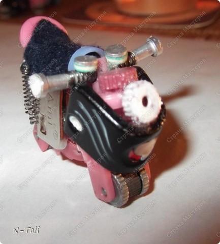 Вот такой мотоцикл получился фото 1