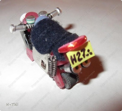 Вот такой мотоцикл получился фото 3