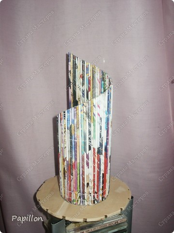 Подставку сделала в подарок ко дню бракосочетания. Идею взяла с сайта http://by-hand.ru/item/view/6307.  фото 4