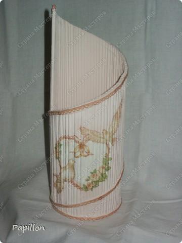 Подставку сделала в подарок ко дню бракосочетания. Идею взяла с сайта http://by-hand.ru/item/view/6307.  фото 6
