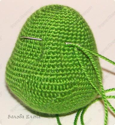 Размером получился поменьше, чем первый, без шляпы 24 см, со шляпой - 29 см. фото 10