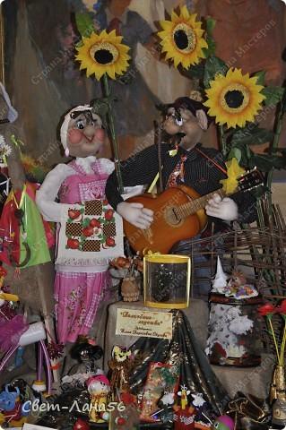 Федя и Параня на выставке. фото 1