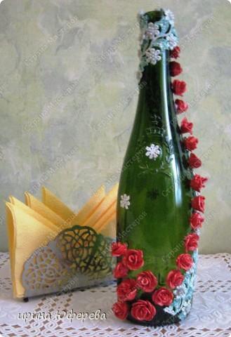 Декор бутылочки фото 1