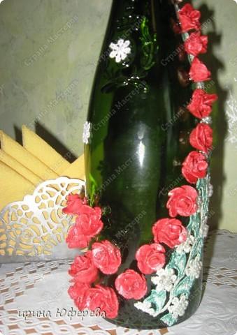 Декор бутылочки фото 3