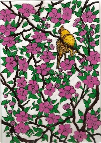 Сакура с райской птицей))))) фото 1
