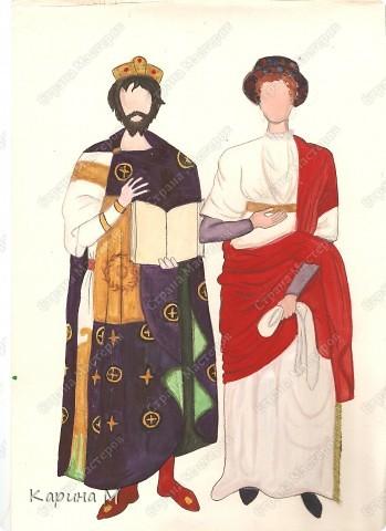 костюм Византии фото 1