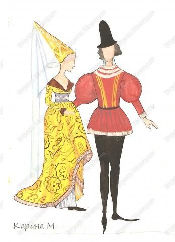костюм Византии фото 6