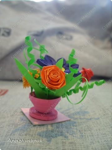 моя первая ваза с цветами фото 1