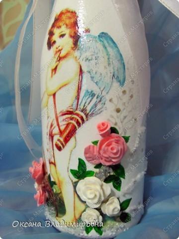 Спасибо, обменному пункту, выменяла такую красоту ))) Первая работа на свадьбу.  фото 1