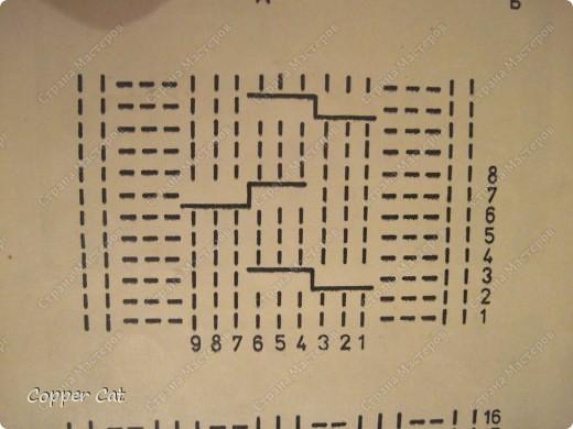 Мастер-класс Вязание спицами Шапка-ушанка ну очень маленький МК Пряжа фото 5