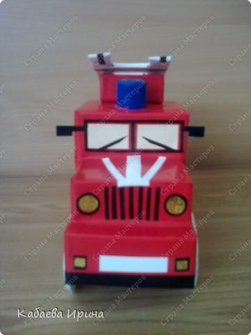 Макет пожарной машины фото 4