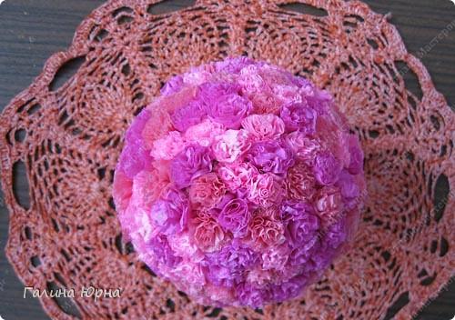 цветочный шар фото 4