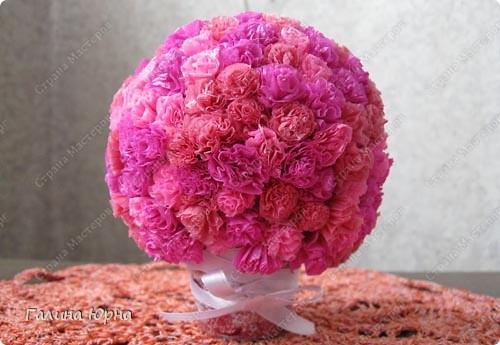 цветочный шар фото 5