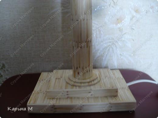 Вот такой светильник сделал мой муж))) фото 4