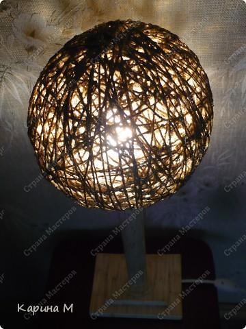 Вот такой светильник сделал мой муж))) фото 7