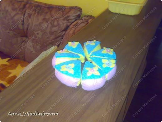 """Недавно """"заболела"""" пироженками из фетра. Теперь у моих малышей есть все для кукольного чаепития) фото 3"""