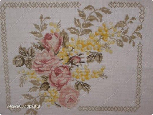 Прекрасная вышивка  , вышивала по схеме из журнала -  susanna  рукоделие  №5/ 2004 фото 2