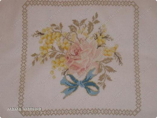 Прекрасная вышивка  , вышивала по схеме из журнала -  susanna  рукоделие  №5/ 2004 фото 1