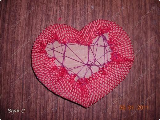 Вот такую валентинку я сшила и хочу поделиться с вами. фото 7