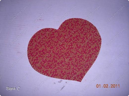 Вот такую валентинку я сшила и хочу поделиться с вами. фото 11