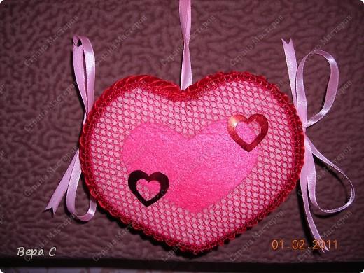 Вот такую валентинку я сшила и хочу поделиться с вами. фото 18