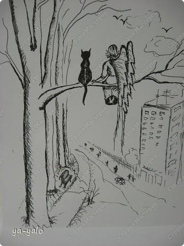 Почему кошки так любят сидеть на окне? Почему так пристально вглядываются в даль? Что видят там они? Может быть, то, что не дано видеть нам, людям?  фото 9