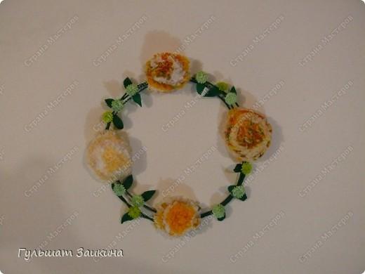 Шарик из цветов фото 5