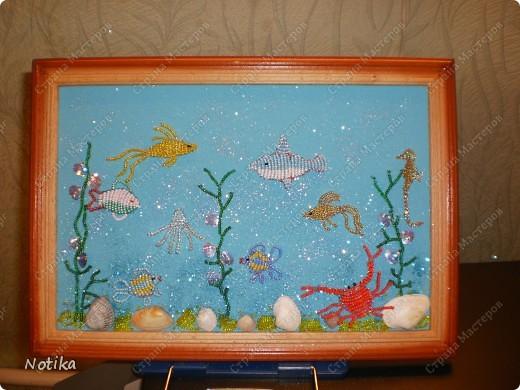 """""""Золотая рыбка в бокале для коньяка"""" Это работа моей девятилетней дочечки. Лично от меня: идея, чуткий контроль и небольшая помощь в оформлении фото 2"""