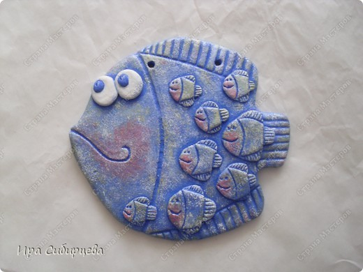 Рыбка мама:) Повторюшка.