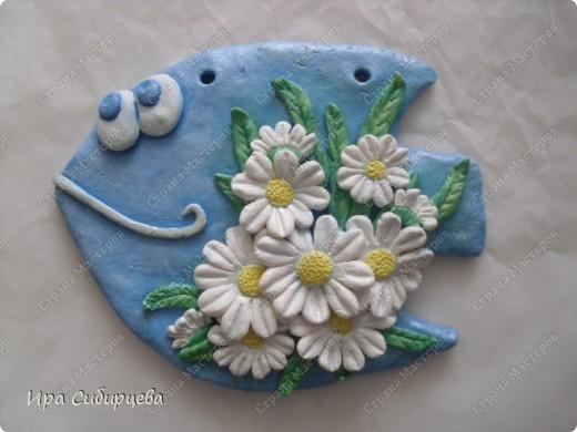 Ромашковая рыбка:)