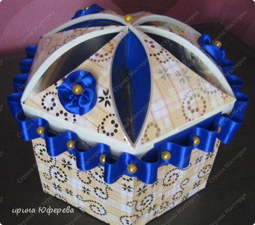 Что можно сделать из под коробки из под конфет своими руками