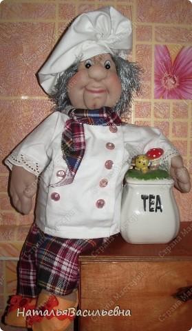 Поваренок Вася - помощник на кухне :) Хорошее настроение при приготовлении обеда обеспечено :) фото 1