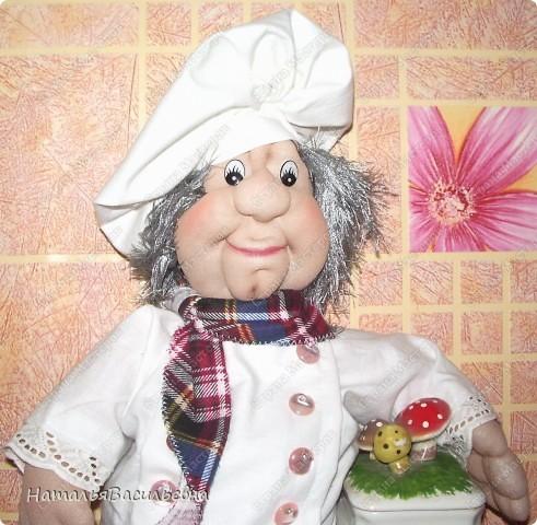 Поваренок Вася - помощник на кухне :) Хорошее настроение при приготовлении обеда обеспечено :) фото 2