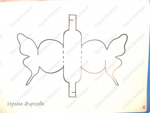 Коробочки для подарков шаблоны с бабочкой