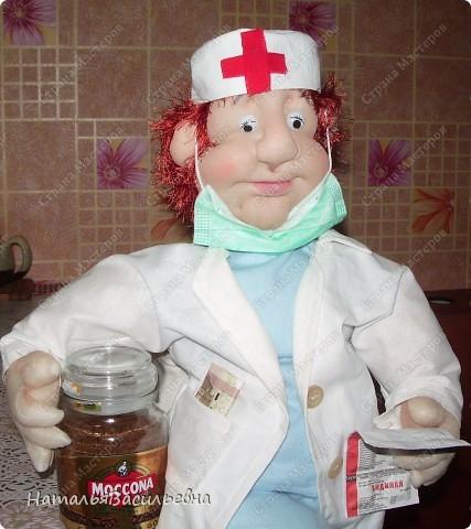 Медсестра Варвара. Всегда спешит на помощь :)  фото 2