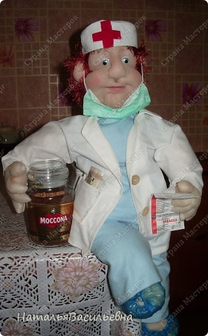 Медсестра Варвара. Всегда спешит на помощь :)  фото 1