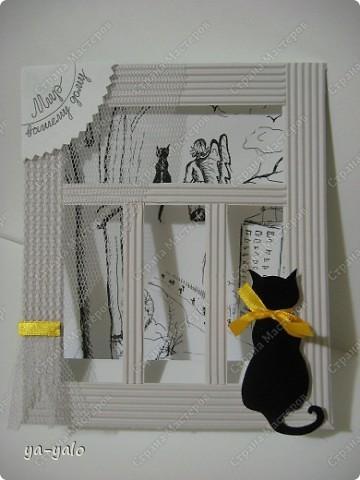 Почему кошки так любят сидеть на окне? Почему так пристально вглядываются в даль? Что видят там они? Может быть, то, что не дано видеть нам, людям?  фото 3