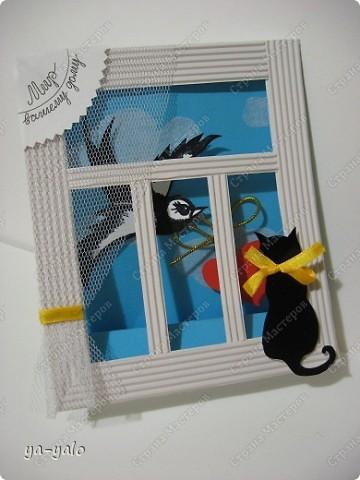 Почему кошки так любят сидеть на окне? Почему так пристально вглядываются в даль? Что видят там они? Может быть, то, что не дано видеть нам, людям?  фото 11