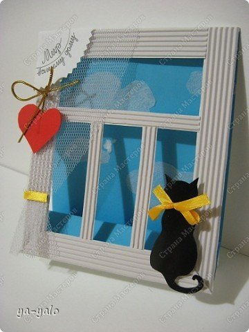 Почему кошки так любят сидеть на окне? Почему так пристально вглядываются в даль? Что видят там они? Может быть, то, что не дано видеть нам, людям?  фото 14