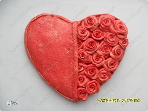 сердце из соленого теста фото 1