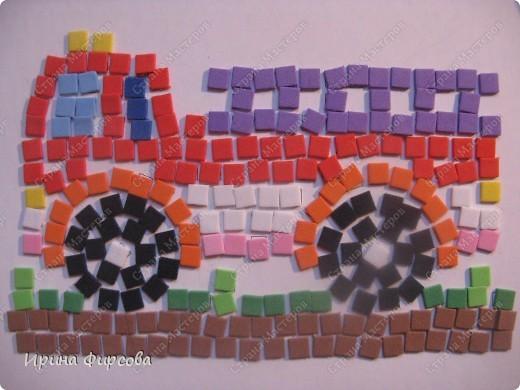 Морской конёк. Не хватило красных квадратиков - думаю либо из бумаги сделать, либо из поделочной резины (только где она продаётся, пока не встречала...) фото 6