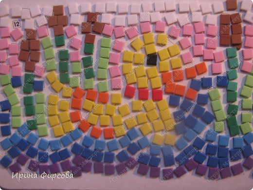 Морской конёк. Не хватило красных квадратиков - думаю либо из бумаги сделать, либо из поделочной резины (только где она продаётся, пока не встречала...) фото 5