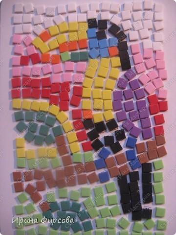 Морской конёк. Не хватило красных квадратиков - думаю либо из бумаги сделать, либо из поделочной резины (только где она продаётся, пока не встречала...) фото 4